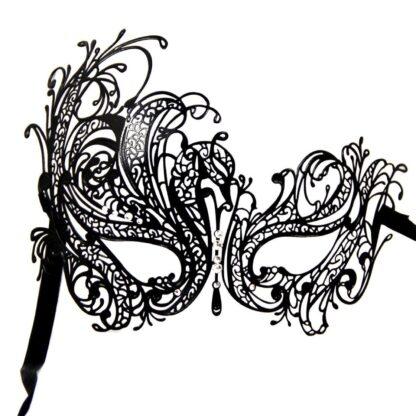 Masque 4, filigraan masker van metaal