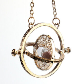 Steampunk ketting 43 - time turner ketting