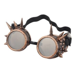 Steampunk goggles 8 met spikes