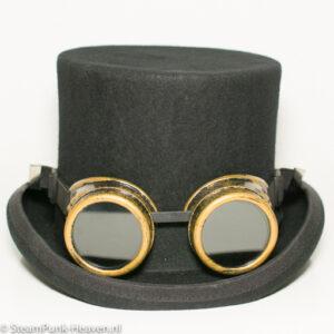 Steampunk goggles 10, kleur goud