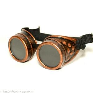 Steampunk goggles 11