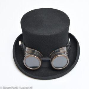 Steampunk goggles 28, kleur bruin