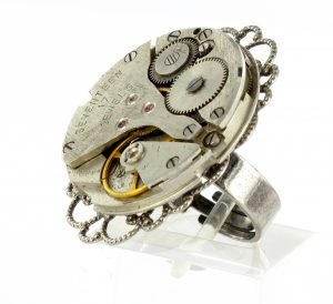 Steampunk ring 77