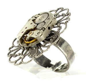 Steampunk ring 78