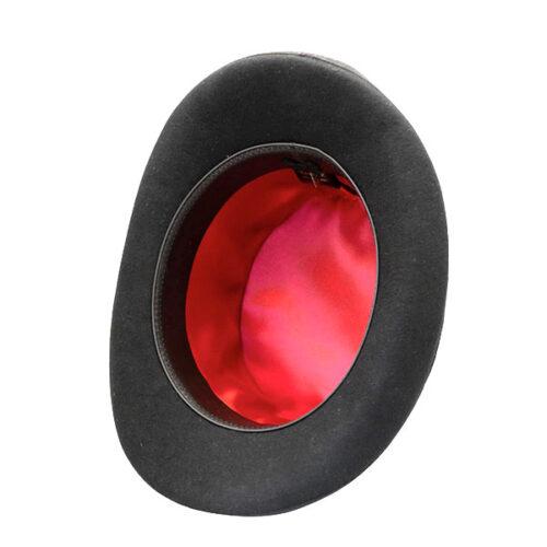 Steampunk hoge hoed Darcy, zwart