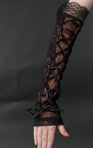 Steampunk/ Lolita handschoenen Nicolette