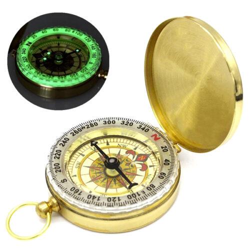 Steampunk messing kompas Arthur