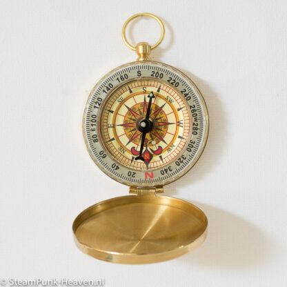 Steampunk messing kompas