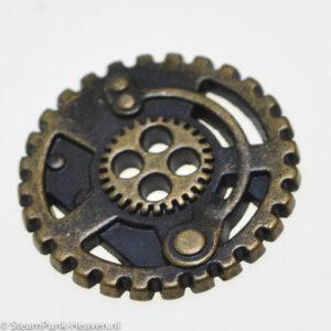 Steampunk knoop 3