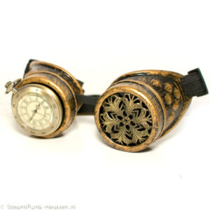 *Steampunk Brillen
