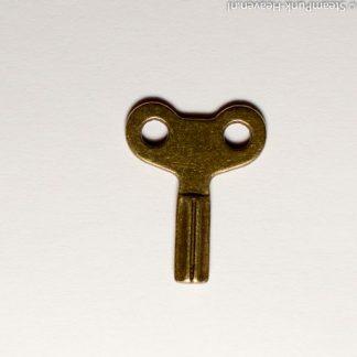 Steampunk sleutel 25, bronskleurig