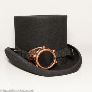 Steampunk mono-goggles 2, kleur koper