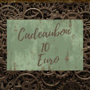 Steampunk Heaven Cadeaubon 10 Euro