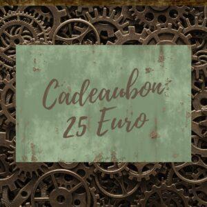 Steampunk Heaven Cadeaubon 25 Euro