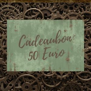 Steampunk Heaven Cadeaubon 50 Euro