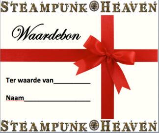 Steampunk Heaven Waardebon ter waarde van 15 Euro e-mail versie