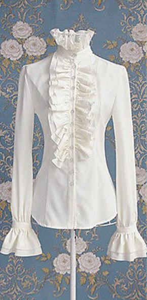Steampunk / victoriaanse blouse Irma