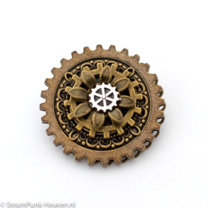 Steampunk broche 18