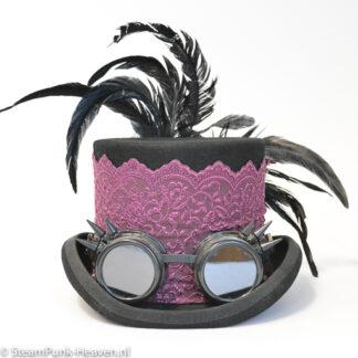 Steampunk hoed: Time flies
