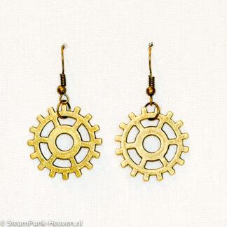 Steampunk oorbellen 170