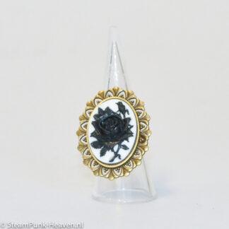Steampunk ring 109