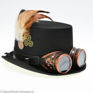 Steampunk hoed Marc