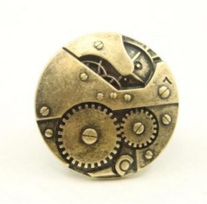Steampunk ring 110
