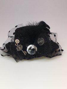 Steampunk mini hoed zg20