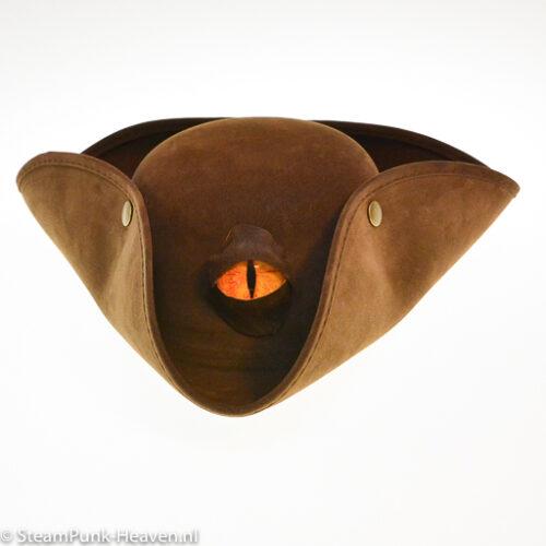 Steampunk hoed Dragon pirate