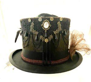 Steampunk hoed Sanne