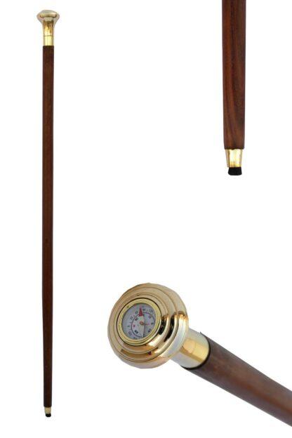 Steampunk wandelstok met kompas