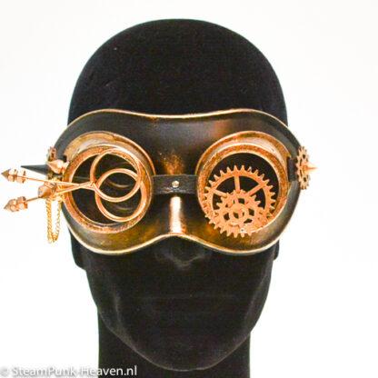 Steampunk masker Wim