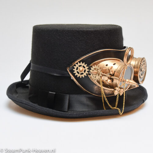 Steampunk hoed Bert