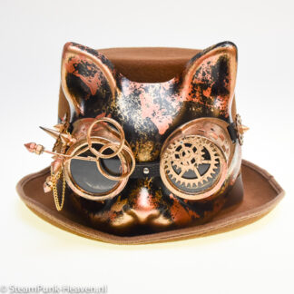 Steampunk hoed Cool Cat