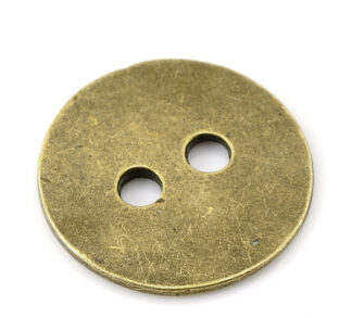 Steampunk knoop 13, metaalknopen, set van 5 stuks