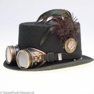 Steampunk hoed Daan