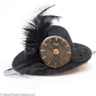 Steampunk mini hoed Nienke