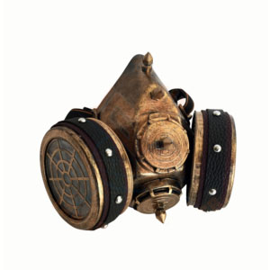 Steampunk stofmasker Harry