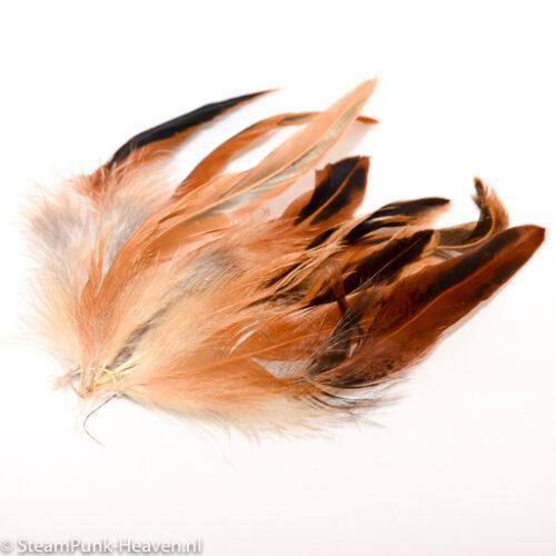Steampunk veren vor een hoed
