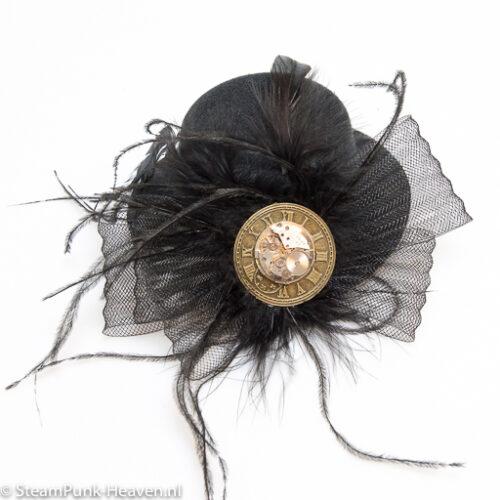 Steampunk mini hoed Jana
