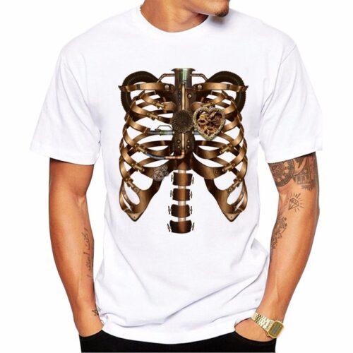 Steampunk t-shirt Steamheart