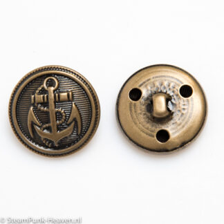 Steampunk knoop 17, kleur bronze