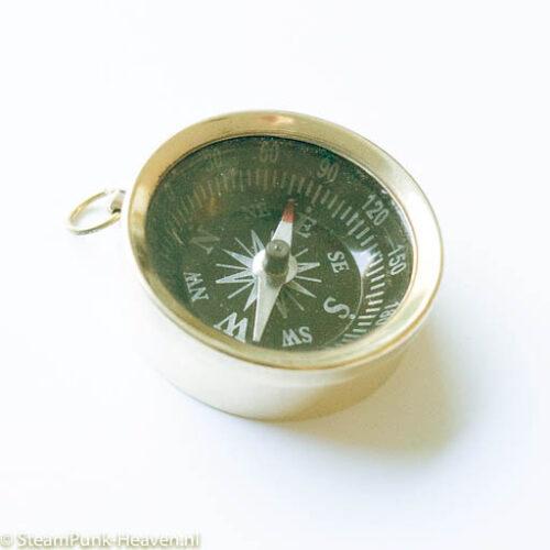 Steampunk mini messing kompas Bibo