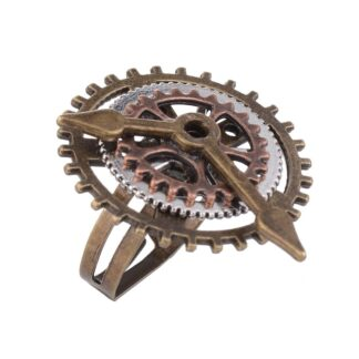 Steampunk ring 14