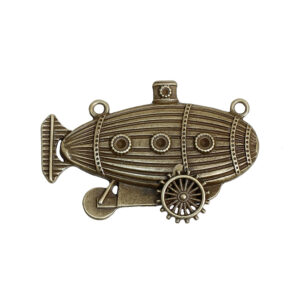 Steampunk kettinghanger luchtschip