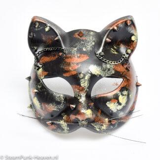 Steampunk masker Kitty