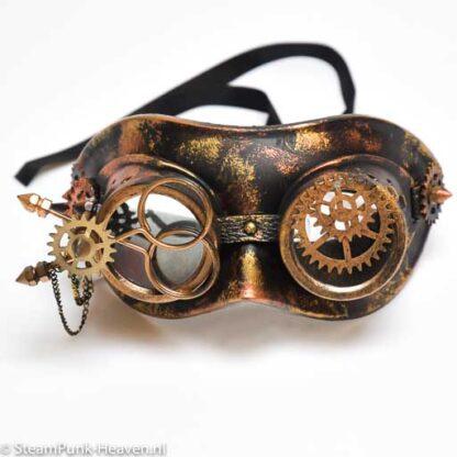 Steampunk masker Thomas