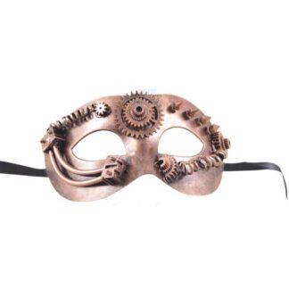 Steampunk halfmasker Nick