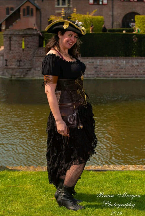 Steampunk blouse Renate