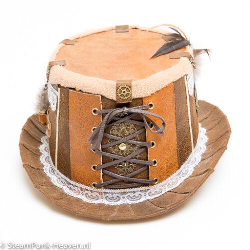 Steampunk hoed Noor